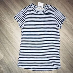 NWT Free People Stripe Tee
